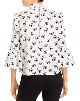 Alice and Olivia - Henriette Ruffled Blouse