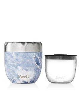 S'well - Eats Small Blue Granite Food Storage Set