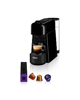 Nespresso - Essenza Plus Espresso Machine by De'Longhi with Aeroccino 3 Milk Frother