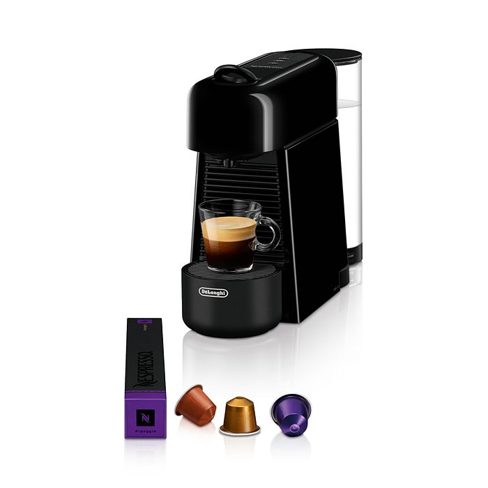 Nespresso - Essenza Plus Espresso Machine by De'Longhi with Aeroccino 3 Milk Frother