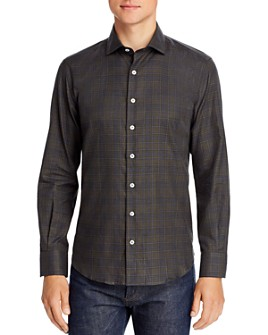 Dylan Gray - Flannel Plaid Classic Fit Button-Down Shirt - 100% Exclusive