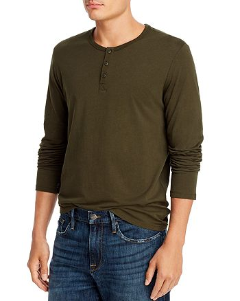 ATM Anthony Thomas Melillo - Long Sleeve Henley - 100% Exclusive