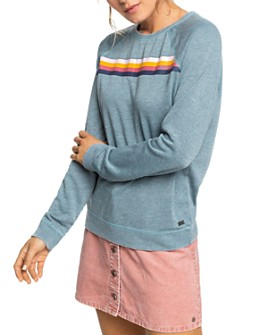 Roxy - Striped Detail Sweatshirt