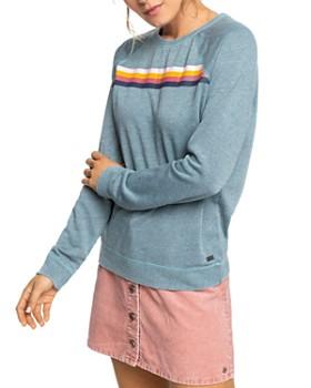 Roxy - Striped Detail Sweatshirt