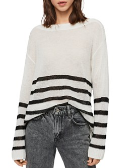 ALLSAINTS - Lune Striped Sweater