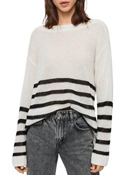 ALLSAINTS - Lune Striped Sweater