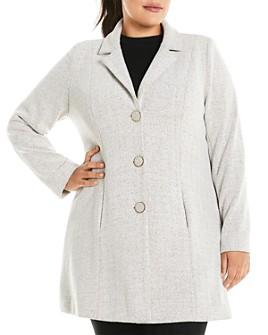 Estelle Plus - Herringbone Coat