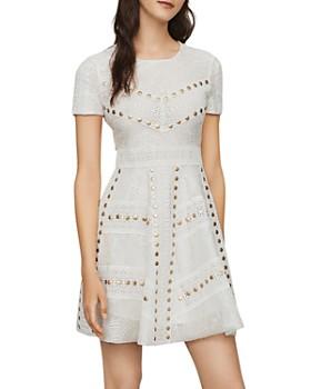 Maje - Rista Studded Guipure Lace Dress
