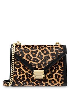 MICHAEL Michael Kors - Whitney Large Cheetah-Print Convertible Shoulder Bag
