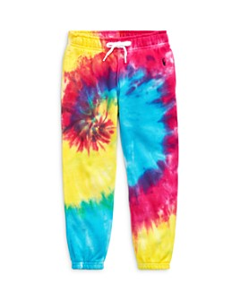 Ralph Lauren - Girls' Tie-Dyed Jogger Pants - Little Kid