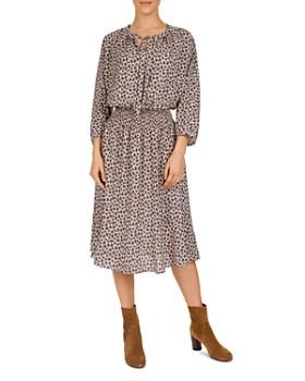 Gerard Darel - Daisy Floral-Print Midi Dress