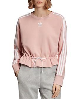 Adidas - Triple Stripe Drawstring Sweatshirt