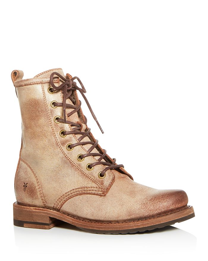 Frye - Women's Veronica Lace Up Combat Boots
