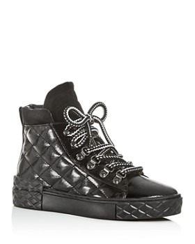 Marc Fisher LTD. - Women's Dulce Quilted High-Top Sneakers