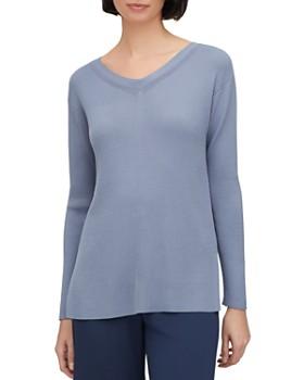 Lafayette 148 New York - Relaxed Rib-Knit Sweater