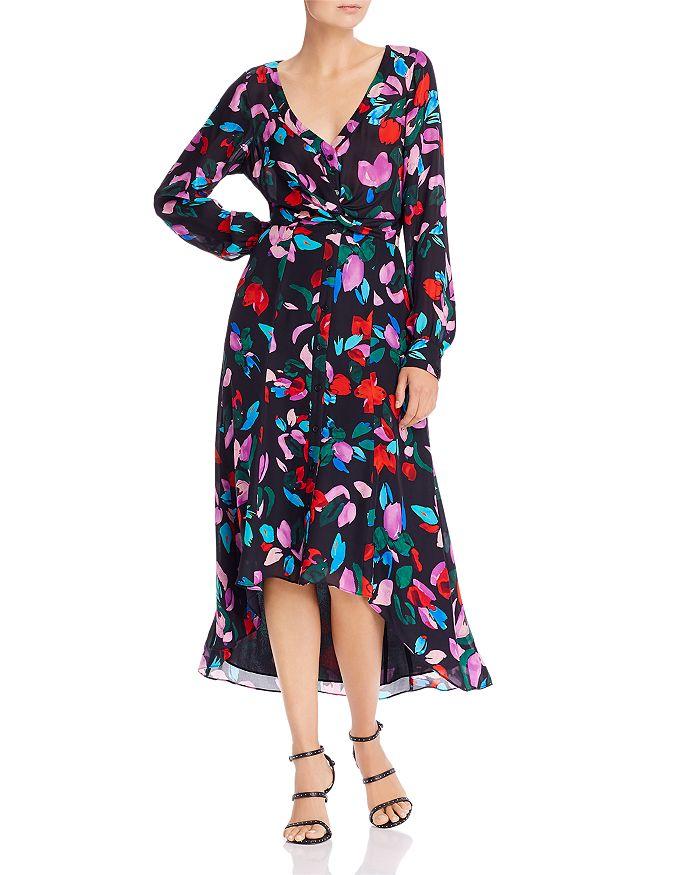 Parker - Cora Printed High/Low Midi Dress