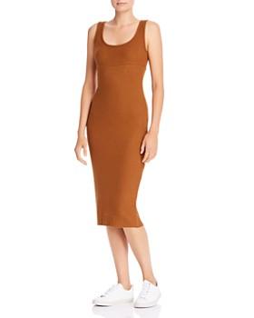 Enza Costa - Ribbed Knit Midi Tank Dress