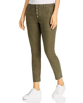 Level 99 - Button-Fly Ankle Pants