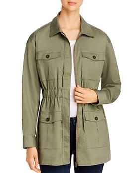 Marled - Cinch-Waist Utility Jacket