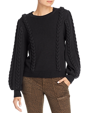 Joie Sweaters CHASA BRAID DETAIL SWEATER