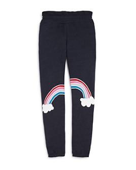 WILDFOX - Girls' Malibu Rainbow Jogger Pants - Big Kid