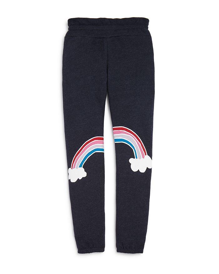 Wildfox Girls' Malibu Rainbow Jogger Pants - Big Kid In Night