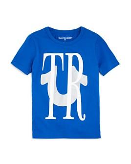 True Religion - Boys' Reflective Logo Tee - Little Kid, Big Kid