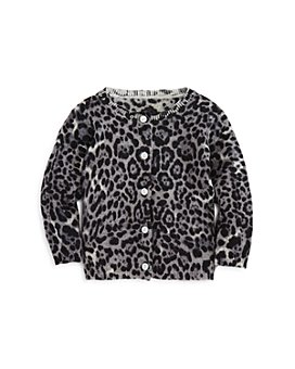 Bloomie's - Girls' Leopard Cashmere Cardigan - Baby