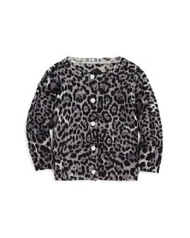 Bloomie's - Girls' Leopard Cashmere Cardigan - Baby