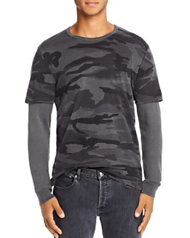 Mills Supply - Camo Double-Layer Tee