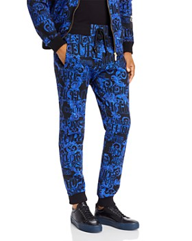 Versace Jeans Couture - Logo Baroque Slim Fit Jogger Sweatpants