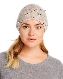 Regina - Studded Knit Beanie