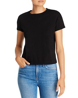 COMUNE - Sunset Cropped Cotton Tee