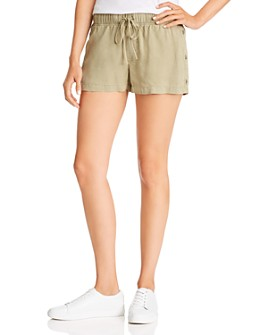 Bella Dahl - Side-Button Drawstring Shorts