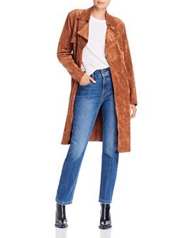 BLANKNYC - Faux-Suede Stretch Jacket