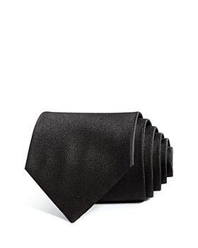 Armani - Solid Silk Wide Tie