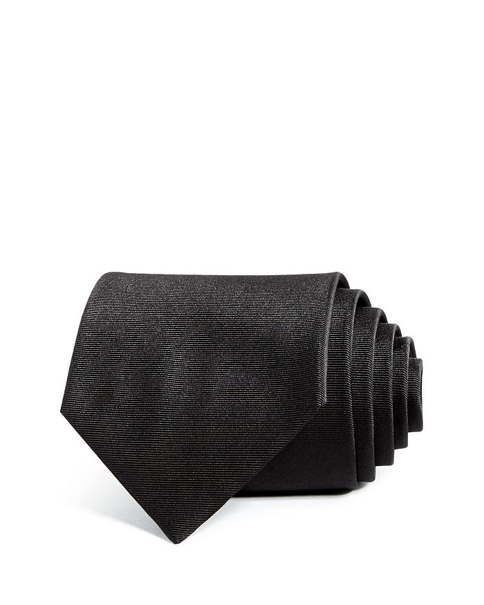 Armani - Solid Silk Wide Tie