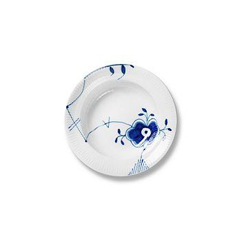 """Royal Copenhagen - """"Blue Fluted Mega"""" Rim Soup Plate #6"""