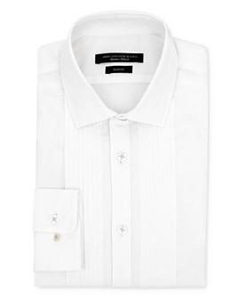 John Varvatos Star USA - Jacquard Formal Slim Fit Dress Shirt