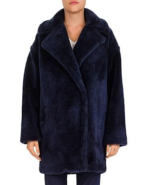 Gerard Darel Perrine Faux-Fur Coat