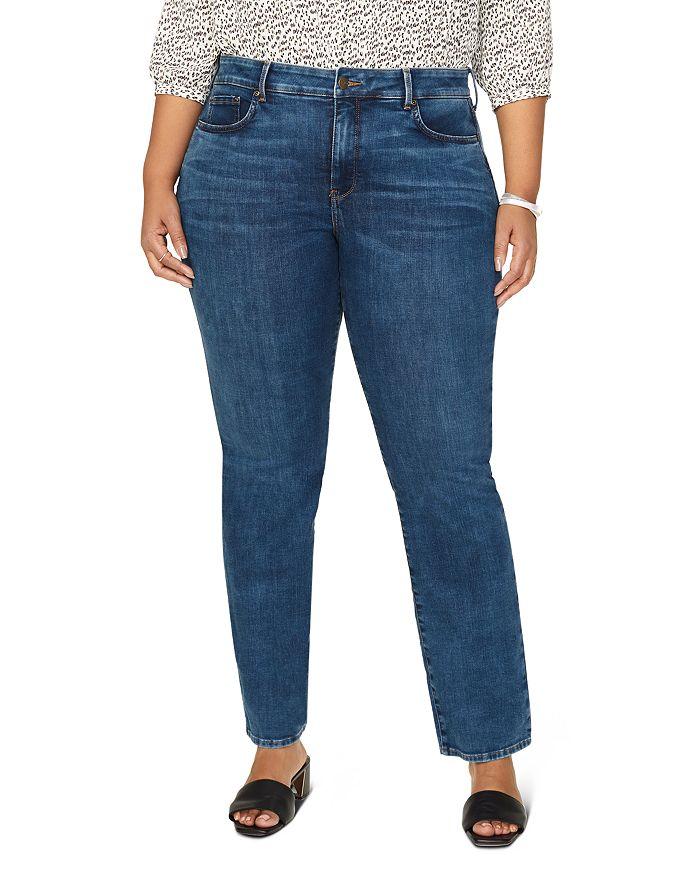 NYDJ Plus - Marilyn Straight-Leg Jeans in Presidio