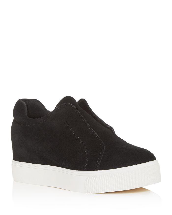 J/Slides - Women's Starr Slip-On Platform Wedge Sneakers