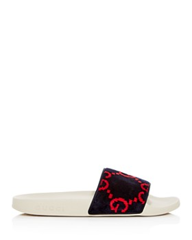 Gucci - Women's Pursuit GG Slide Sandals