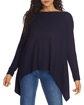 1.STATE - Twist-Back Pointelle Sweater
