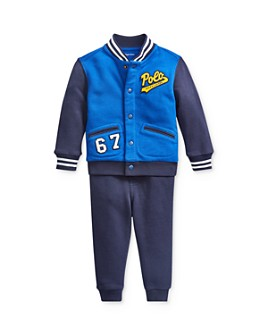Ralph Lauren - Boys' Baseball Jacket & Jogger Pants Set - Baby