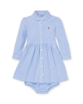Ralph Lauren - Girls' Striped Shirt Dress & Bloomers Set - Baby