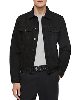ALLSAINTS - Blank Distressed Denim Trucker Jacket