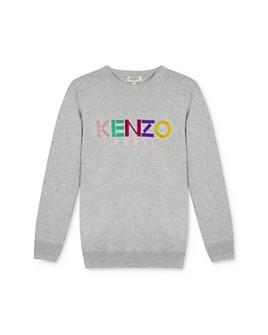 Kenzo - Girls' Rainbow Logo Sweater - Little Kid