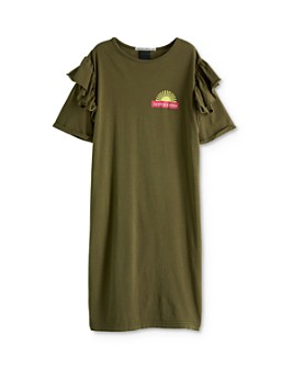 Scotch R'Belle - Girls' Ruffled T-Shirt Dress - Little Kid, Big Kid