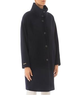 Peserico - Funnel-Neck Virgin Wool-Blend Coat